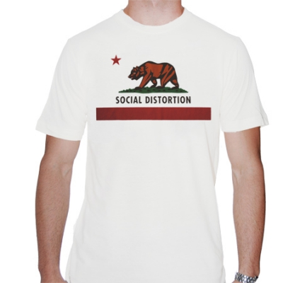 social-distortion - California Flag | T-Shirt