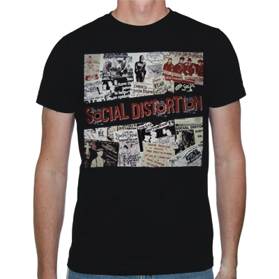 Social Distortion - Flyer | T-Shirt
