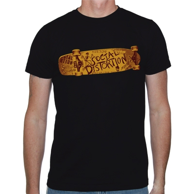 Social Distortion - Skateboard | T-Shirt