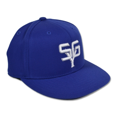 Set Your Goals - Baseball Hat Blue | Flexfit Cap