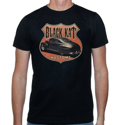 black-kat-kustoms - Interstate | T-Shirt