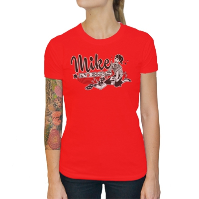 Mike Ness - Tattoo Teen Girl Fitted T-Shirt