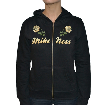 mike-ness - Yellow Rose Girl Hoodie