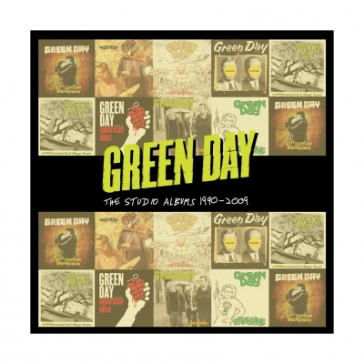 green-day - Studio Albums 1990-2009 | 8xCD Box